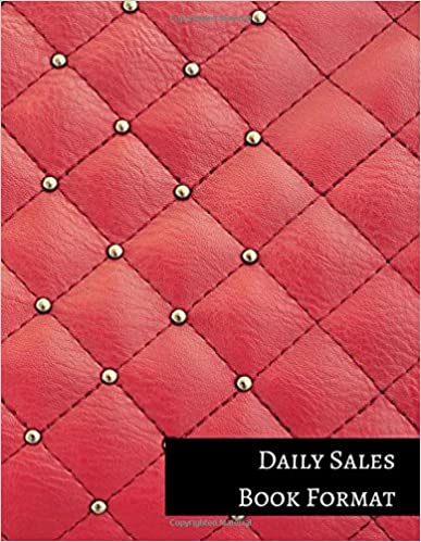 Daily Sales Book Format