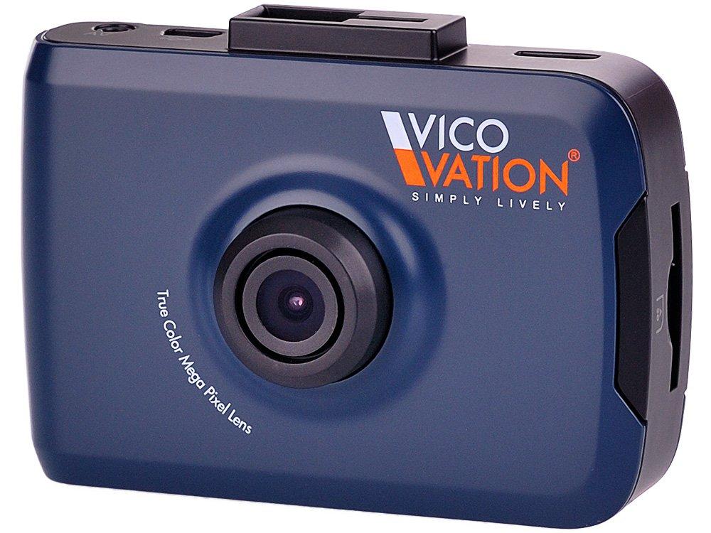 VicoVation Vico-SF2 Videocamera con supporto per auto full HD colore: Nero