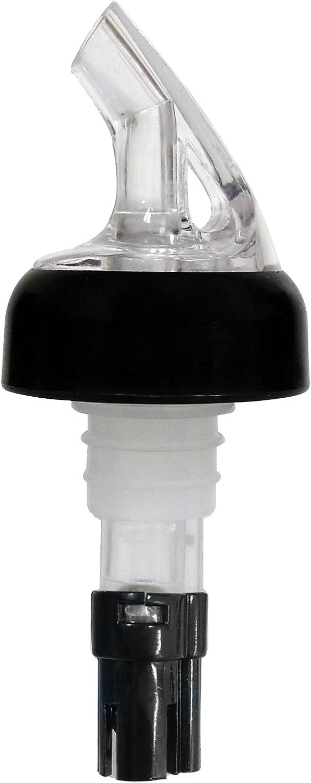 Vinotemp EP-MPOUR Measured Wine Pourer Spout, Black