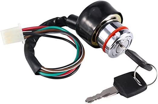 Amazon Com Yosoo Universal 6 Wire Ignition Switch 3 Position 2 Keys Motorcycle Kart Pit Quad Bike Home Kitchen