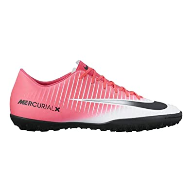 2000dd673aee Nike Men's MercurialX Victory VI TF Pink Football Shoes (7 D(M) US): Buy  Online at Low Prices in India - Amazon.in