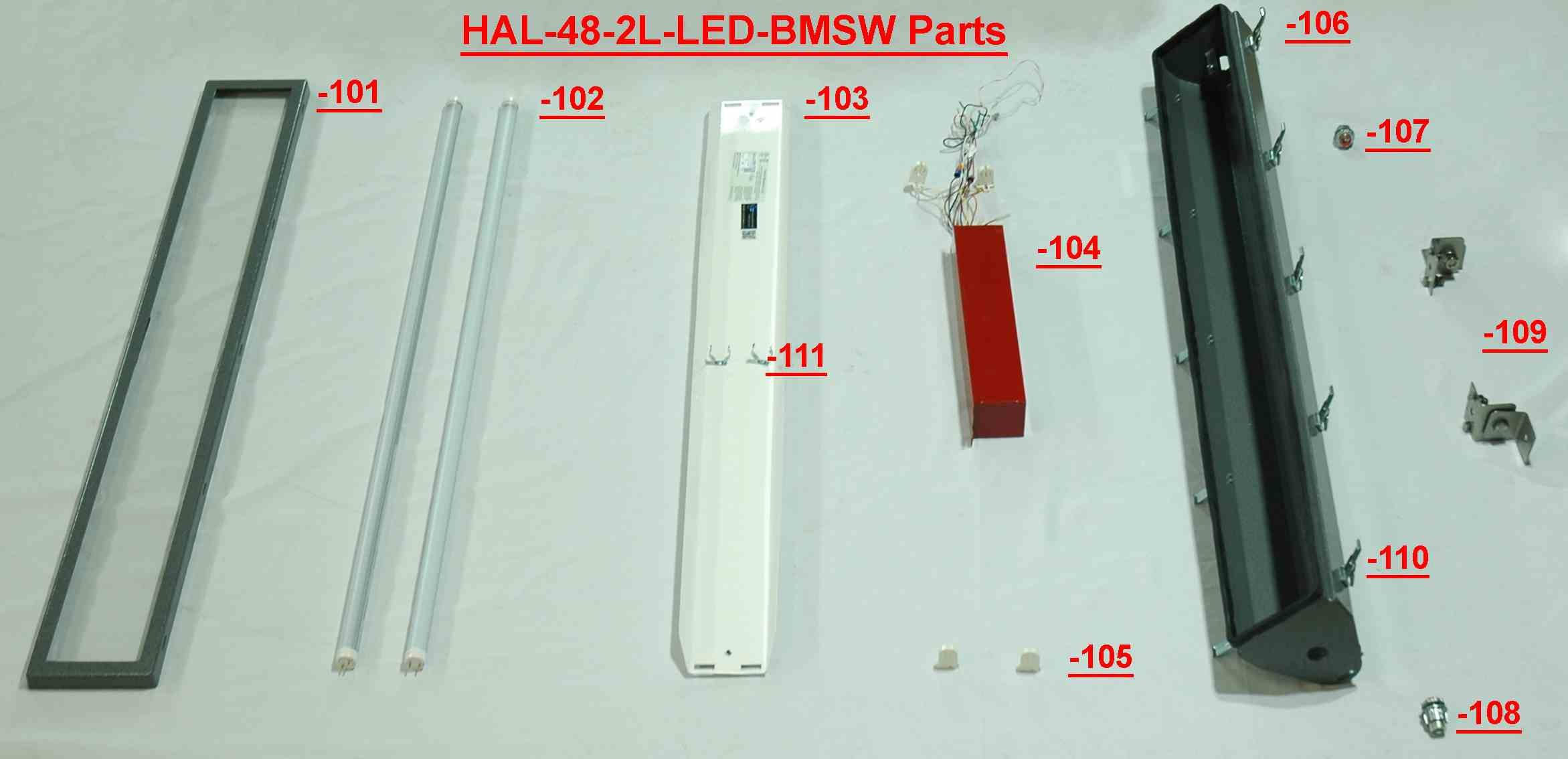 Replacement Stainless Steel Latch for HAL-48-2L-LED-BMSW Hazardous Location LED Light Fixture