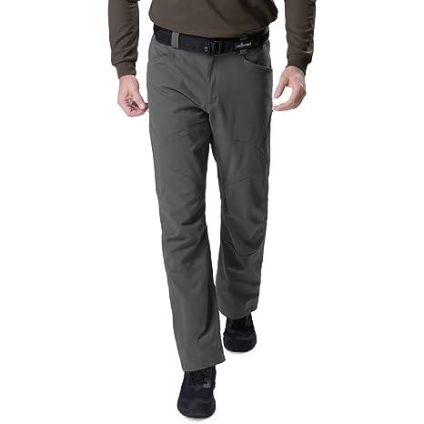 Free Soldado - Pantalón táctico para Hombre (Nailon Repelente al Agua, con múltiples Bolsillos