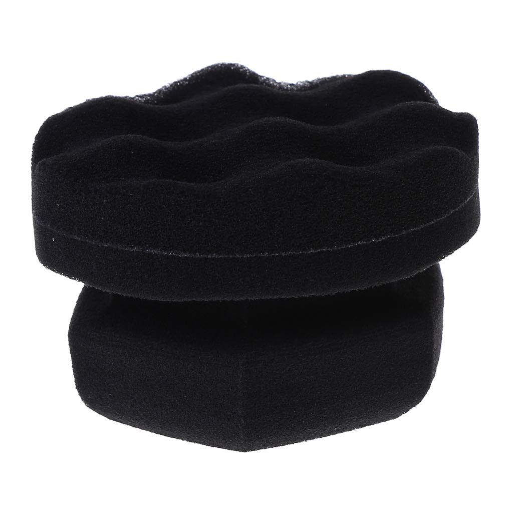 Reusable Tire Cleaner Sponge for Tire Detailing. Tire Shine Applicator Dressing Pad with Hex Grip Design 2pcs Tire Dressing Applicator