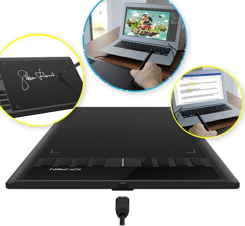 XP-PEN Graphic Drawing Tablet Digital Art Board Star03 With ...