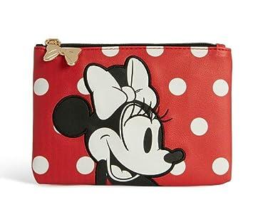 3016e23140d5 Primark Disney minnie mouse - zip purse - pouch - small makeup bag -: Amazon .co.uk: Beauty