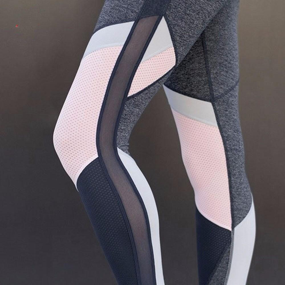 Xuanytp Yogahosen Hosengamaschenfrauenübungs-Tailleneignungshosen, Die Eignungausdehnungshosen Abnehmen