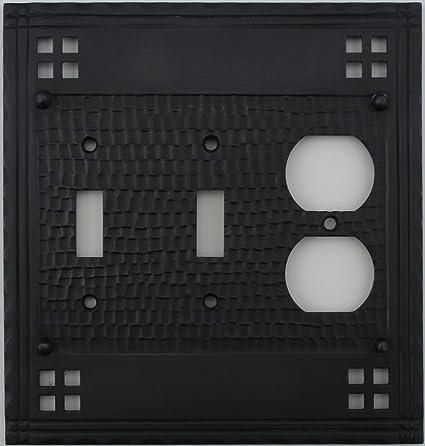 MIssion switch plates single duplex outlet