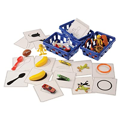 Constructive Playthings 54 pc. Children's Make-A-Match Game to Encourage Matching and Shape Recognition for Ages 3 Years and Up: Industrial & Scientific