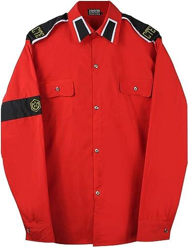 Disfraz para Michael Jackson CTE Camisas Negro/Blanco/Rojo - Rojo ...