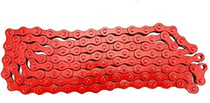 KMC 1 Speed 1//2x1//8 Bicycle Chain M-Wave Anti-Rust Silver 112 links