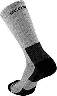 product image for EcoSox Bamboo Viscose Half Cushion Hiking Crew Socks - Keep Your Feet Dry, Odor, & Blister Free