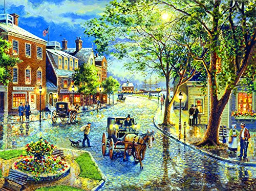 Seaport Marketplace 1000 Piece Jigsaw Puzzle by SunsOut