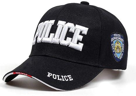 FXSYL Gorra de Beisbol Nueva Policía Hombres Táctico Gorra Swat ...