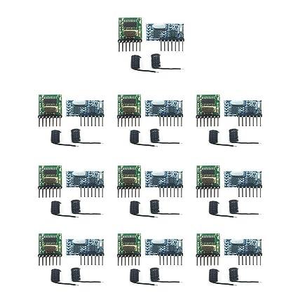 Mando A Distancia Inalámbrico 433 Mhz Rf Módulo Receptor Y