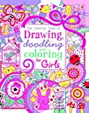 The Usborne Book of Drawing, Doodling and Coloring for Girls