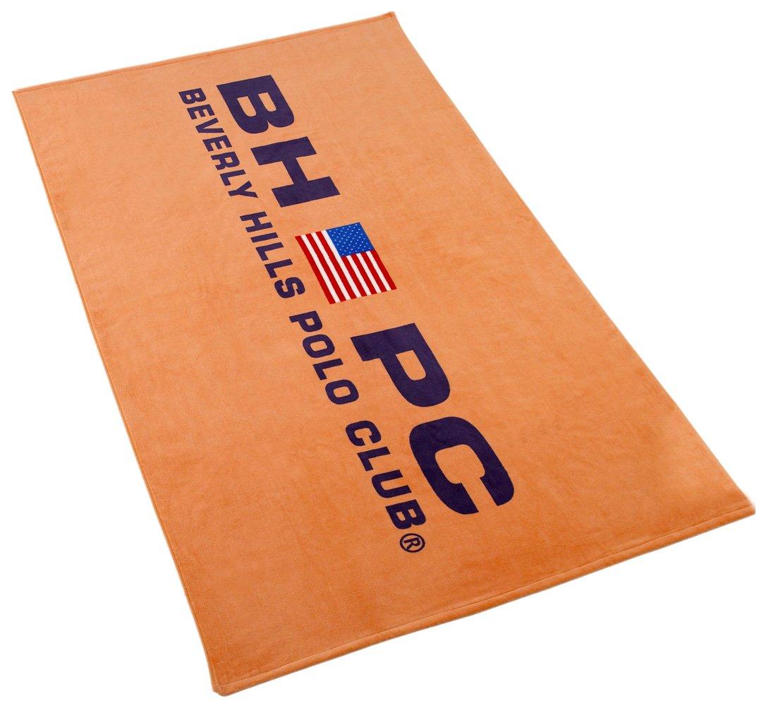 Beverly Hills Polo Club Bandera Toalla de Playa, algodón, Papaya ...