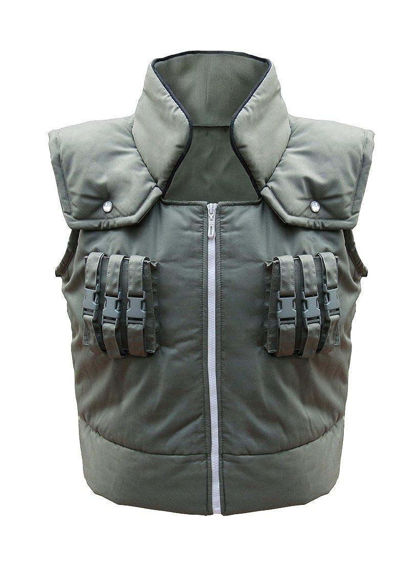 DAZCOS Herren Erwachsener US-Gr/ö/ße Kakashi Hatake Vest Cosplay M/änner XS Gr/ün