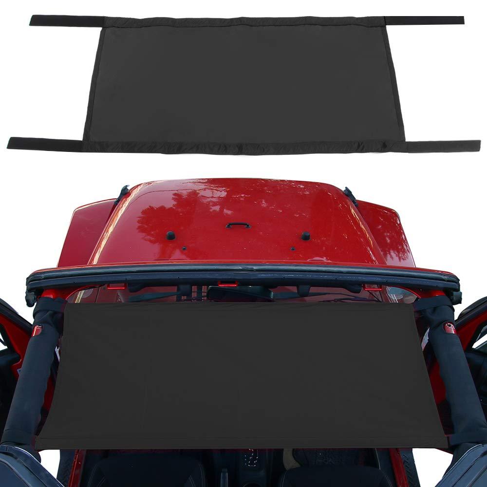 JeCar Car Roof Hammock for Jeep Wrangler 1997-2019