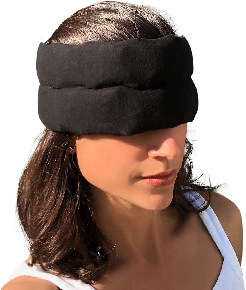 Headache Halo (by Headache Hat) - Wearable Ice Pack for Migraine & Headache Relief, Long Lasting Cooling Therapy, Stress and Tension Relief