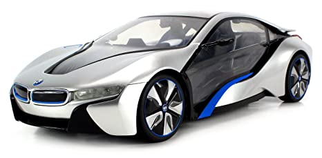 Amazon Com Licensed Bmw I8 Concept Edrive Electric Rc Car 1 14