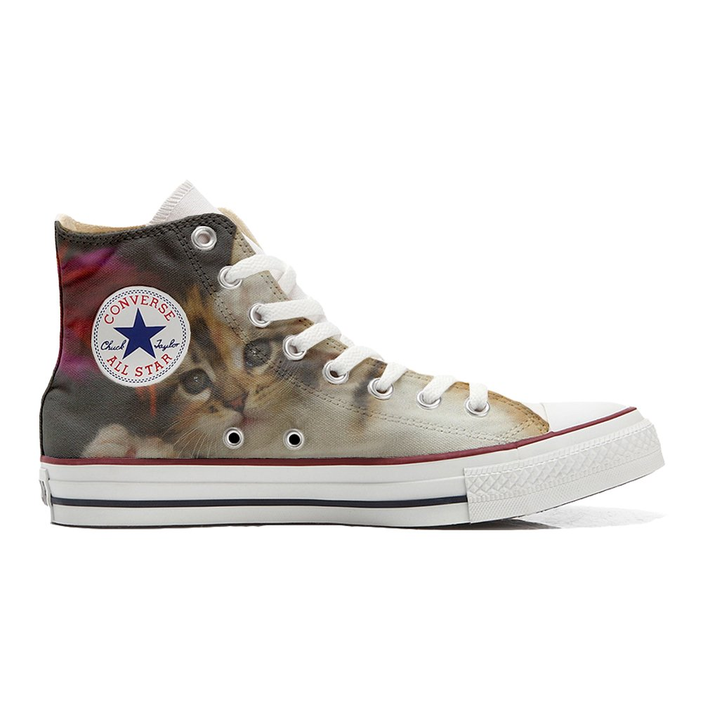 Converse All Star personalisierte Schuhe (Handwerk Produkt) Kitty  43 EU