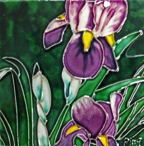 Iris Ceramic Tile - 1