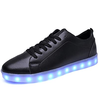 2017 New Style Fashionable LED Shoes USB Charging Light Up Glow Shoes Sneakers Flashing Luminous