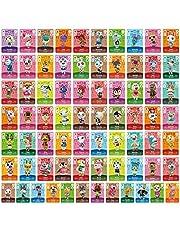 ACNH Tiny NFC Tag Game Villager Nodig Kaarten - 72 Stks Mini NFC Tag Game Kaarten voor ACNH en Andere Serie voor Schakelaar/Switch Lite/Wii U en Nieuwe 3DS