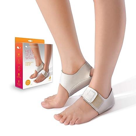 202b84387f Heel That Pain Heel Seat Wraps for Plantar Fasciitis and Heel Spurs -  Perfect for Heel