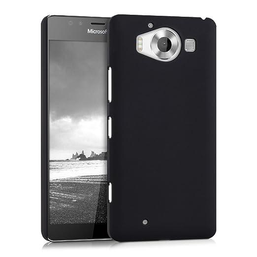 6 opinioni per kwmobile Cover per Microsoft Lumia 950- Custodia rigida in plastica per