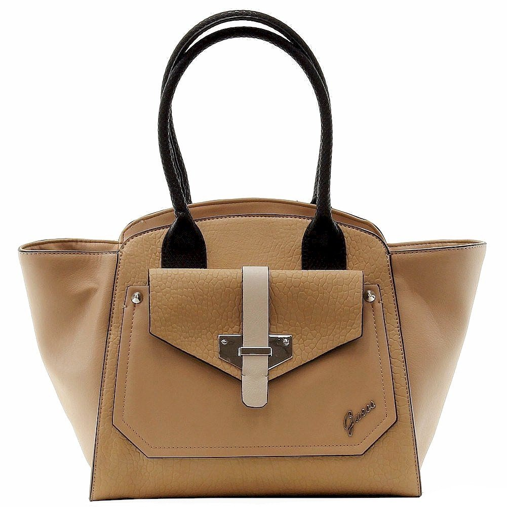 GUESS Quinn Privy Tote (Nude) by GUESS