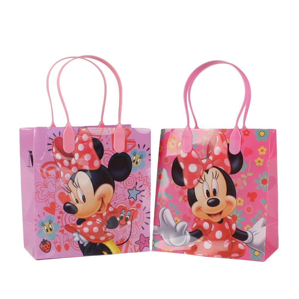 Disney Minnie Mouse Small Party Favor Goody Bags 12x by Beyondstore