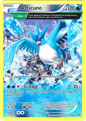 Pokemon - Articuno (17/108) - XY Roaring Skies - Reverse Holo