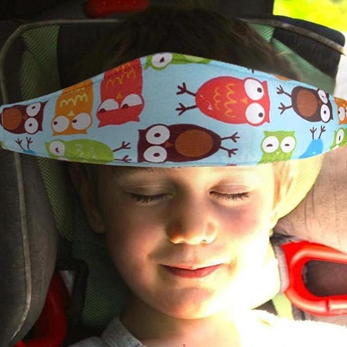 Cinturón de Seguridad de Coche para Niños Sujetadores de Cabeza para Bebés Soporte de Cabeza del Cochecito saisiyiky (C): Amazon.es: Coche y moto