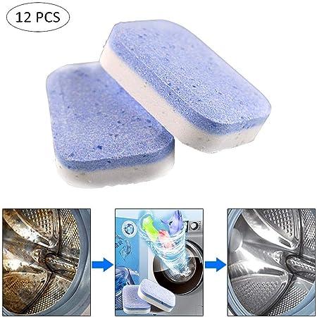 Womdee Limpiador de lavadoras de tabletas y lavadoras de detergente para Limpieza de Lavadora, Limpiador de lavadoras y lavadoras de Cocina, descalcificador, Desodorante: Amazon.es: Hogar