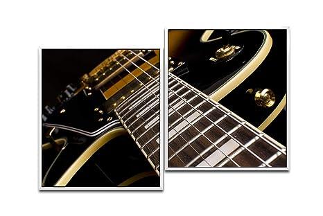 Paul Sinus Art - Guitarra eléctrica, grabación de cercanía, 130 x 90 cm (2 imágenes de Aprox.