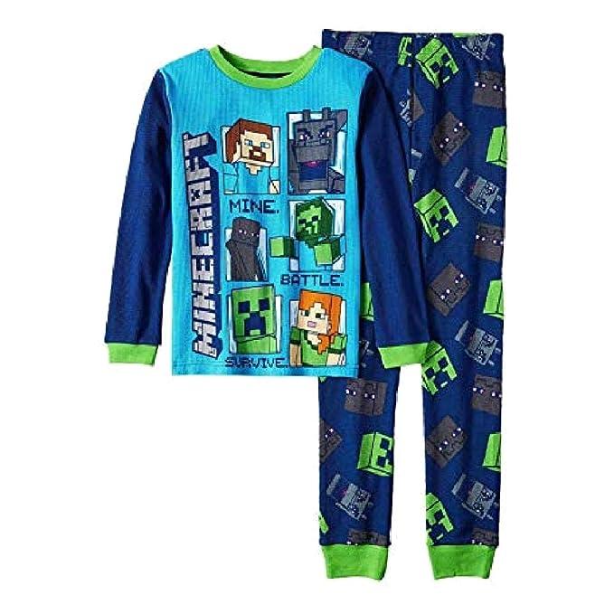 252fd56bc216 Amazon.com  Generic Minecraft Boys Kids Children Toddler 2-Piece ...