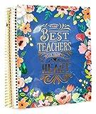 "Creative Year Best Teachers Large Planner (9'' x 11.5"")"