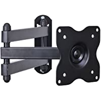 "VideoSecu ML12B TV LCD Monitor Wall Mount Full Motion 15 inch Extension Arm Articulating Tilt Swivel for Most 19""-32"", Some Models up to 47"", LED TV Flat Panel Screen with VESA 100x100, 75x75 1KX"