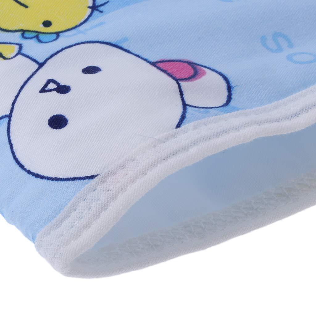 faltbar wiederverwendbar blau wasserfest huiouer Wickelunterlage f/ür Neugeborene kompakt