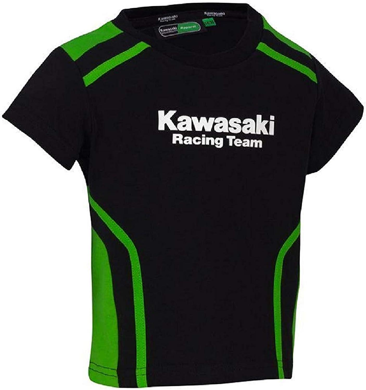 Kawasaki Krt Camiseta Niño Negro - Negro, 104/116: Amazon.es: Ropa y accesorios