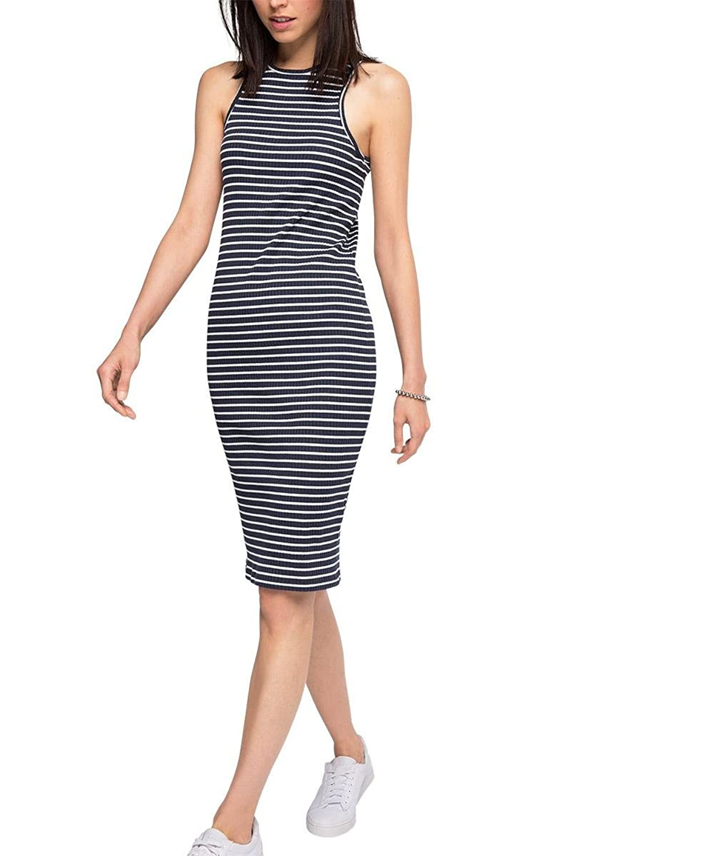 edc by Esprit Women's 066cc1e036 Gestreift Dress
