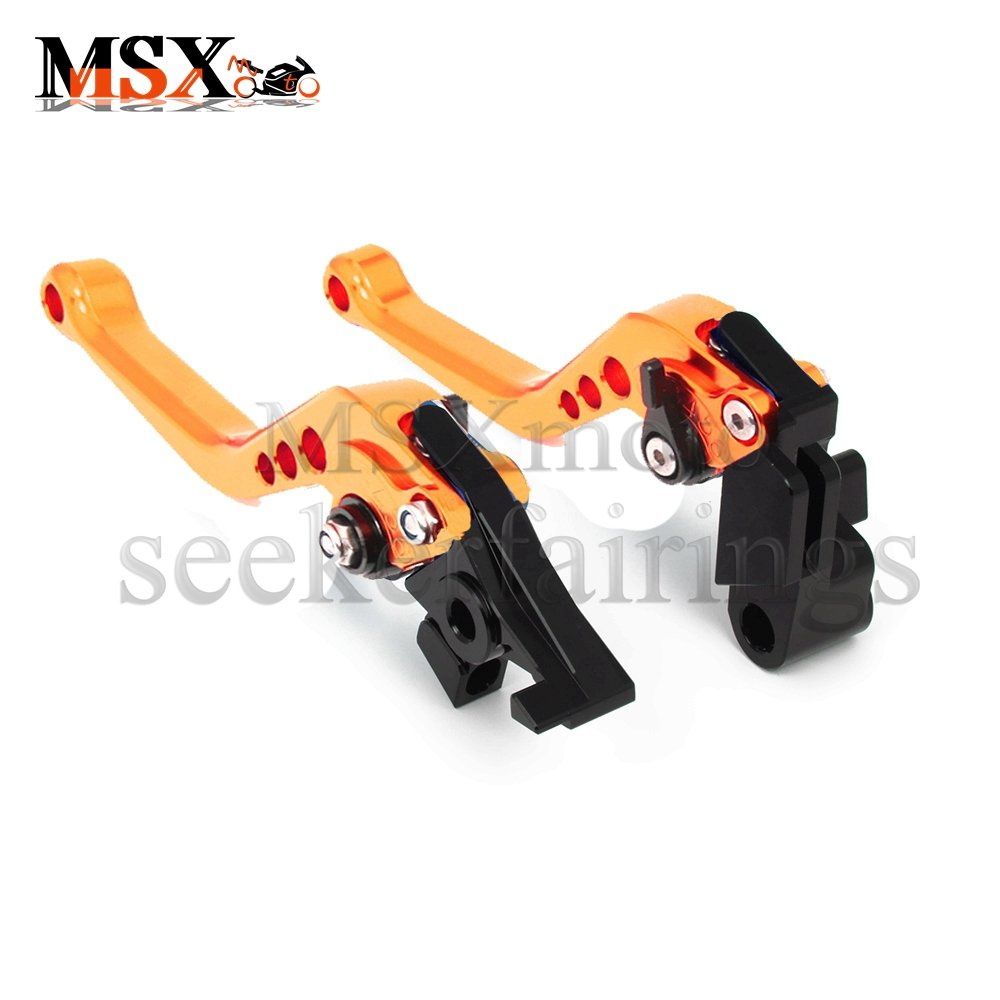 650cc MSXmoto Pivot Brake Clutch Levers Adjustable Brake and Clutch Levers for Kawasaki ER-6N F 2009-2015 Ninja 650R ER-6F 2009-2015 VERSYS 2009-2014 Ninja 400R 2011 Silver
