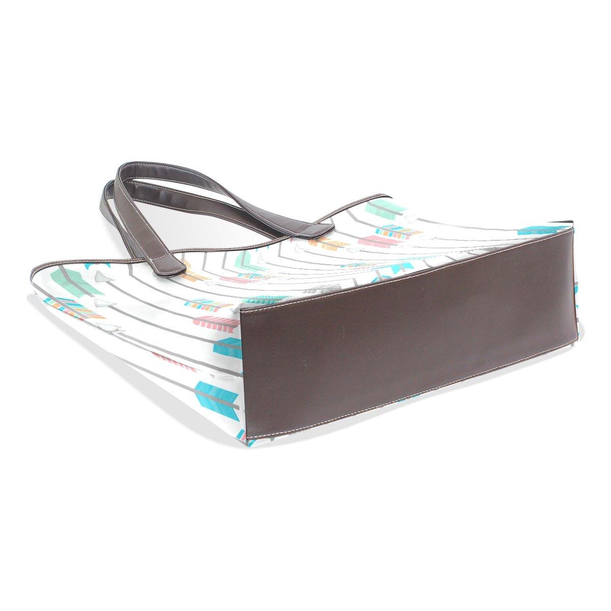 COOSUN Bunte Pfeile große Taschen-PU-Leder-Handgriff-Schulter-Beutel-Taschen-Tasche M (40x29x9) cm muticolour B07CKC5QCY B07CKC5QCY B07CKC5QCY Schultertaschen Vorzugspreis b2276d