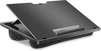 HUANUO Adjustable Lap Desk w/8 Adjustable Angles & Dual Cushions Stand