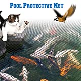 BenefitUSA Pool Netting Pond Protective Floating Net Tub Mesh Cover (28' x45')