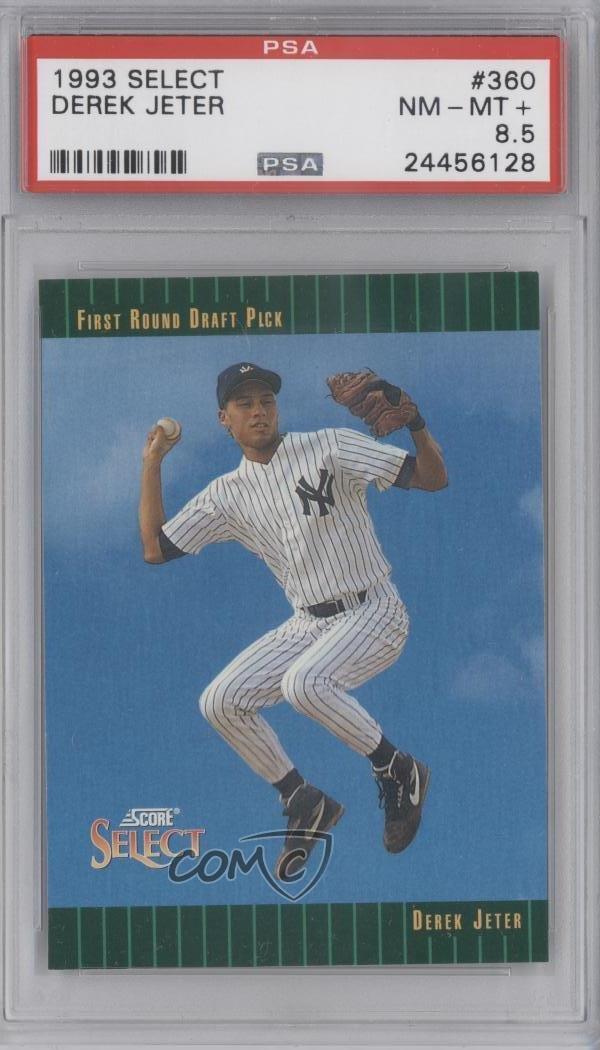 #360 Derek Jeter 1993 Score Select - Base Baseball Card