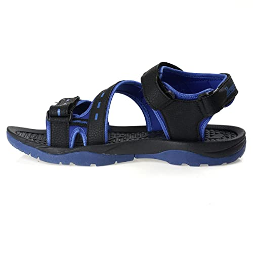 4ad83fd1031287 PARAGON Stimulus Men's Black Sandals: Buy Online at Low Prices in ...