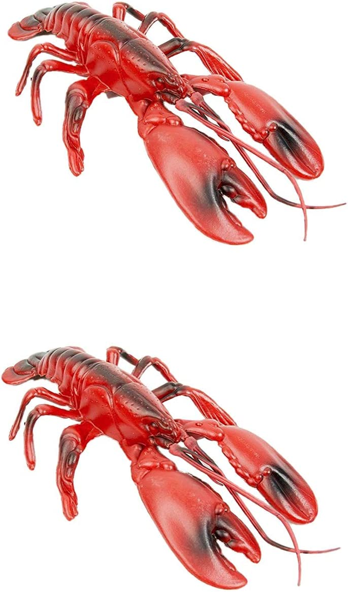 Fun Express Plastic Lobster (2-Pack)